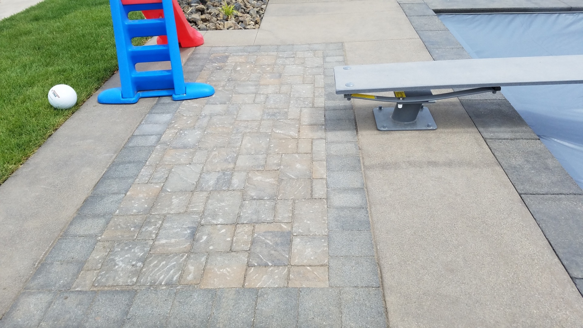 Paver & Weather Sealing